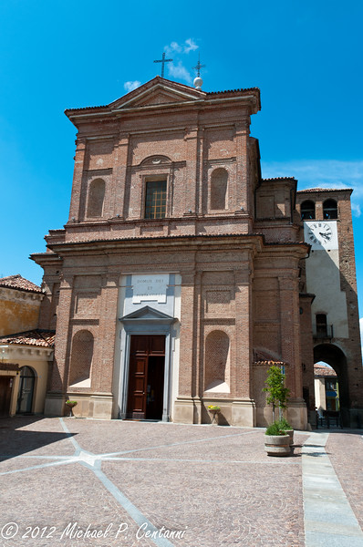 a church in Novello
