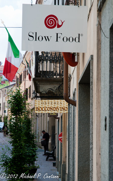 "Osteria Boccondivino - the first ""Slow Food"" restaurant"