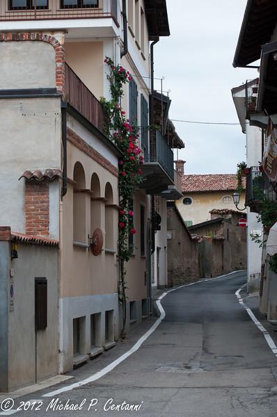 a street in La Morra