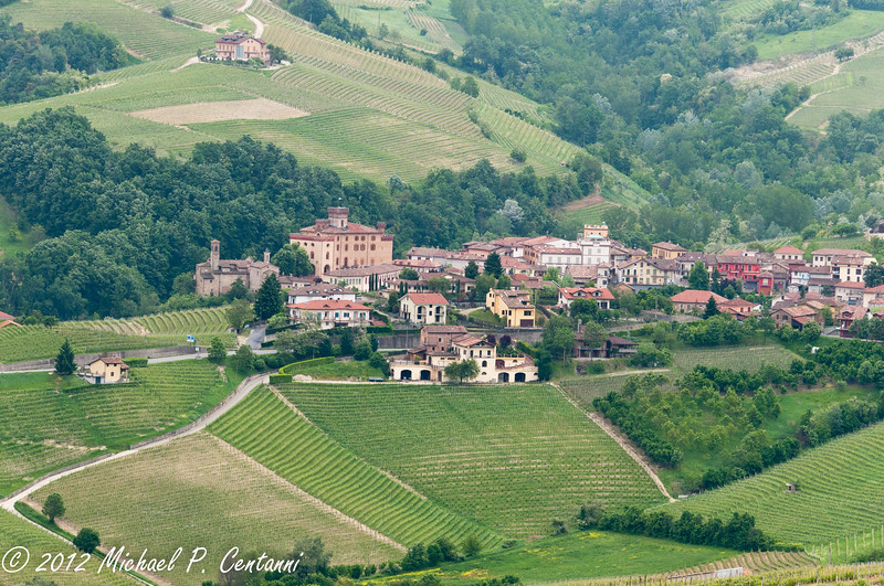 Looking at Barolo from La Morra