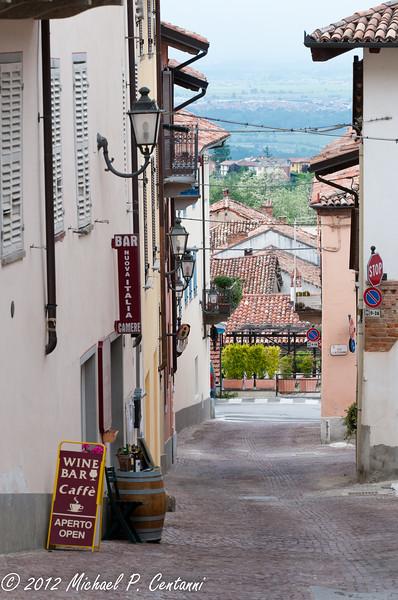 Street in La Morra