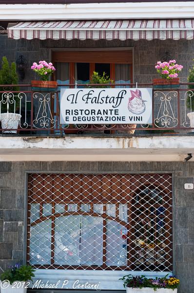 Il Falstaff - great restaurant in Verduno