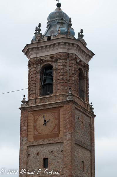 Torre Campanaria belltower in La Morra