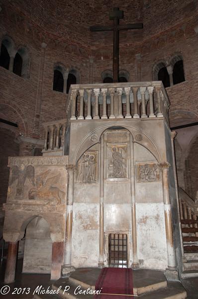 Inside the Basilica San Stefano