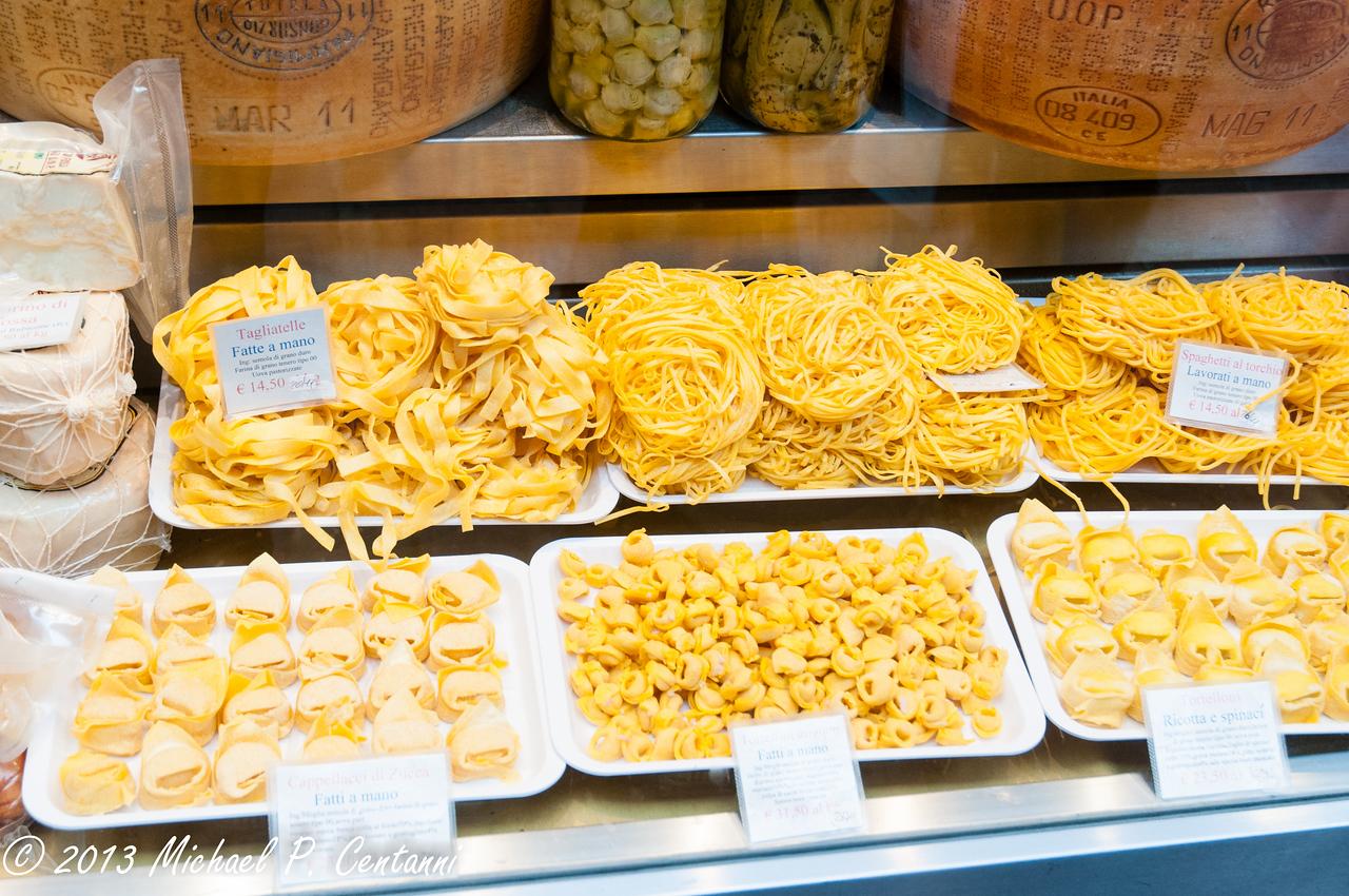 Handmade pastas