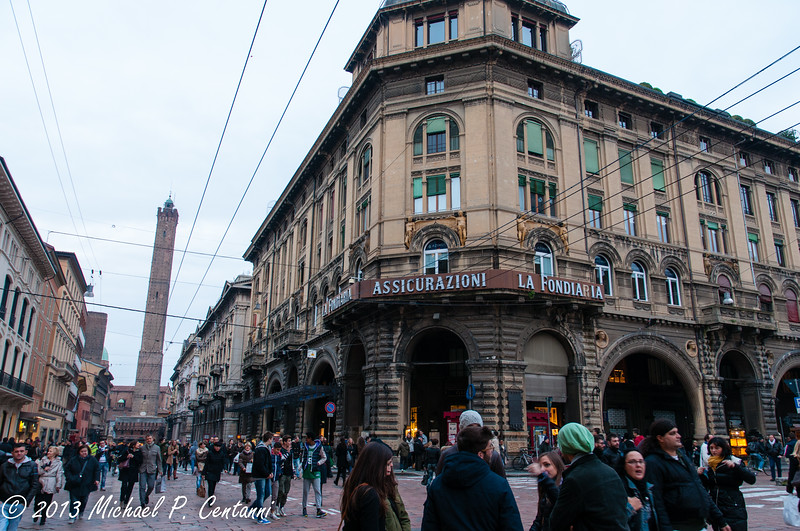 streets of Bologna