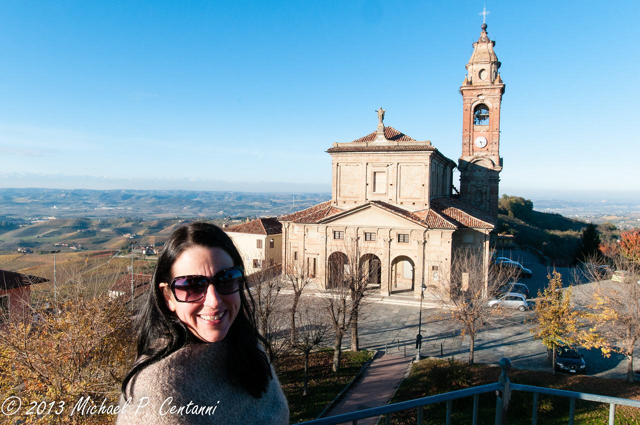The main church in Diano d'Alba