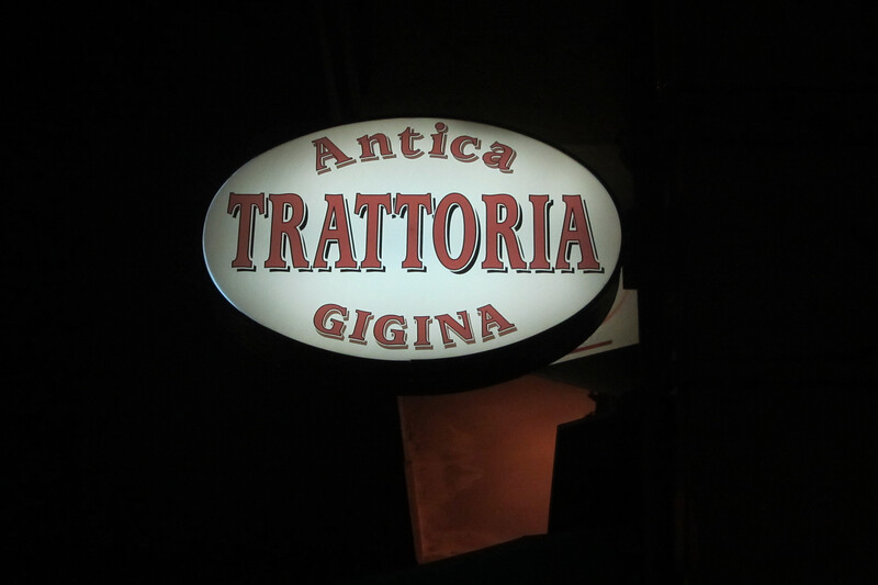 Trattoria Antica Gigina, Bologna - outside Centro Storico - worth the visit!