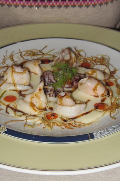 Calamari antipasti