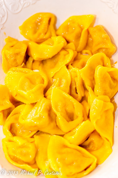 cooked Tortelloni