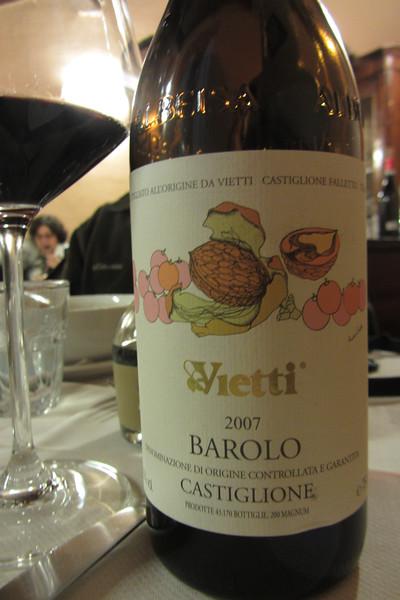 2007 Vietti Castiglione Barolo