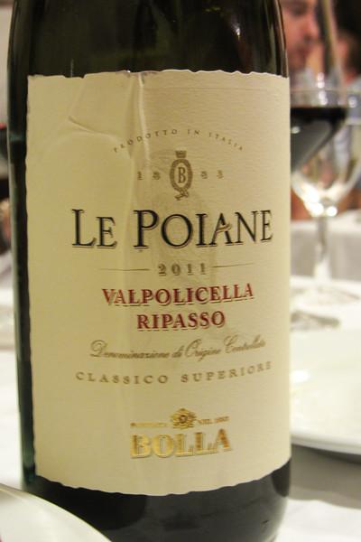 Very nice Valpolicella Ripasso