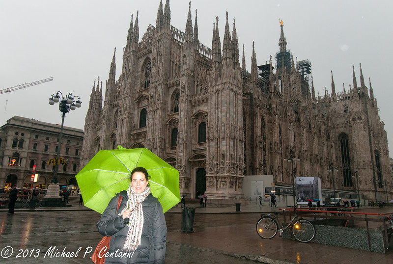 The Duomo in the rain