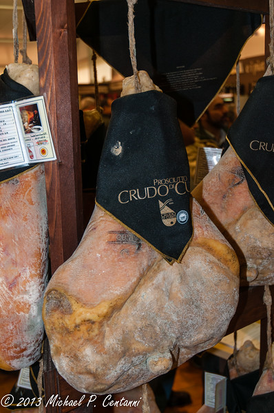 Prosciutto at the Truffle Fair