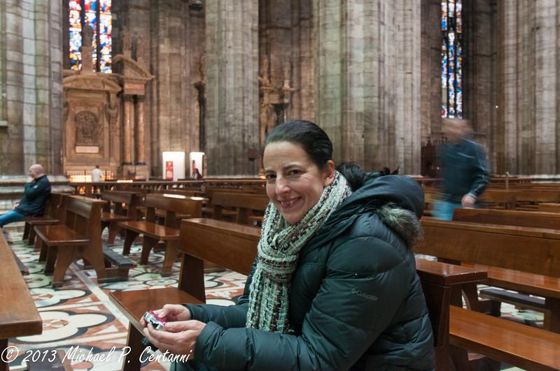 Inside the Duomo, Milano