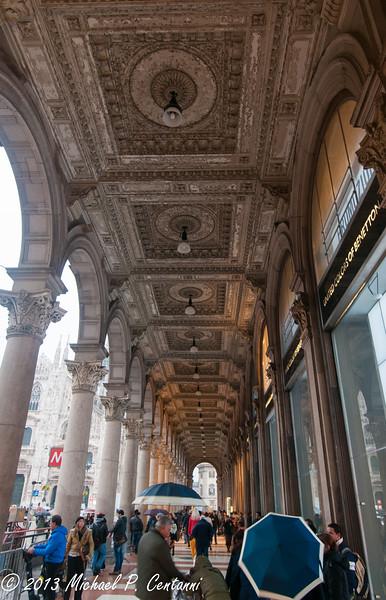 Portico, Piazza del Duomo