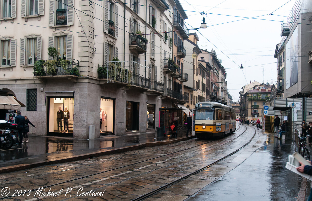Streetcars in Milano