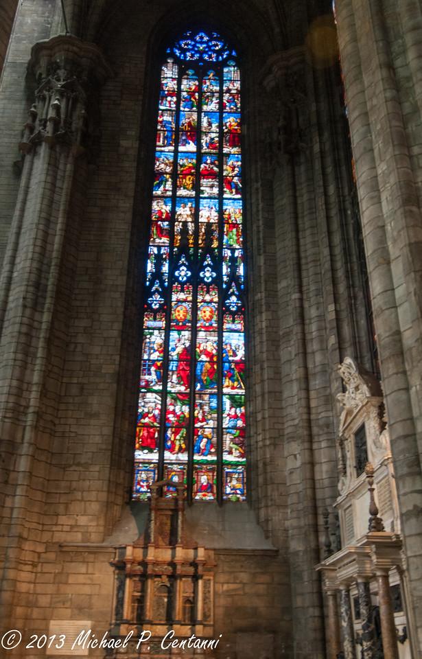 Inside the Duomo