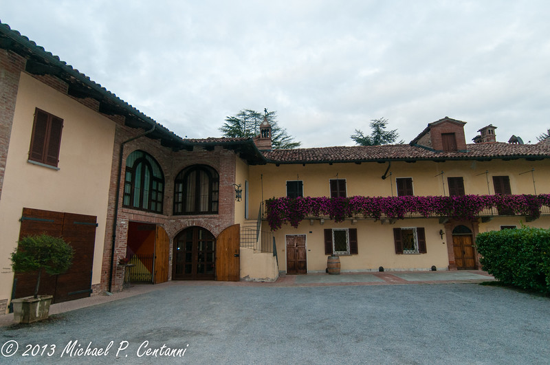 The original building of Oddero - contains the cellar and the tasting room.