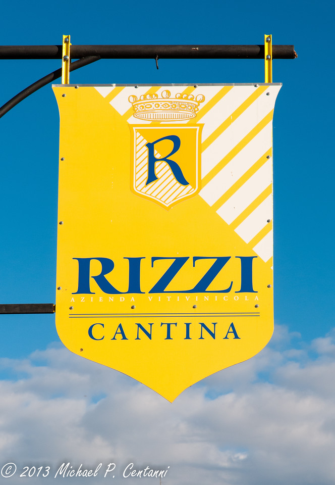 Rizzi Cantina in Treiso.  Also in Barbaresco