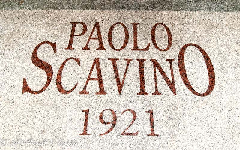 The cantina of Paolo Scavino