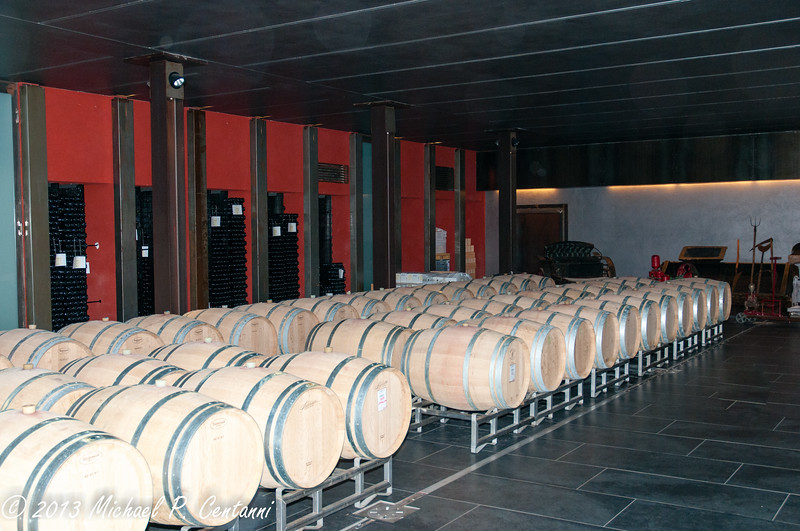 The cellars at Conterno Fantino