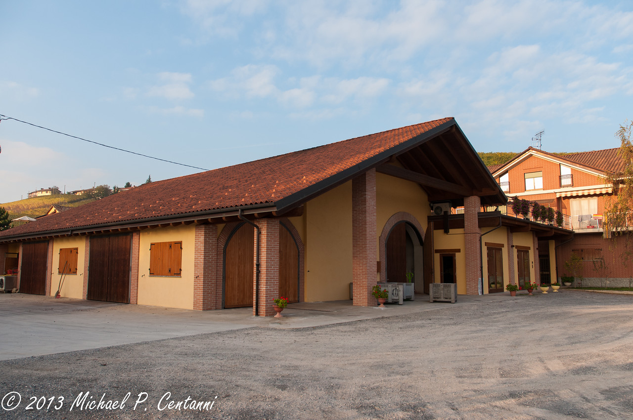 Tasting room and Cantina of Silvio Grasso