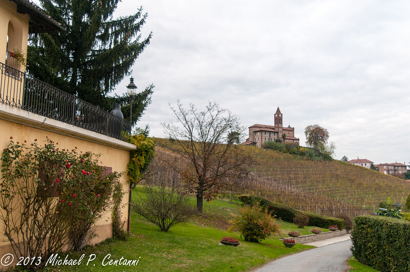 Bricco Chiesa - this vineyard makes up part of Oddero Barolo Classico