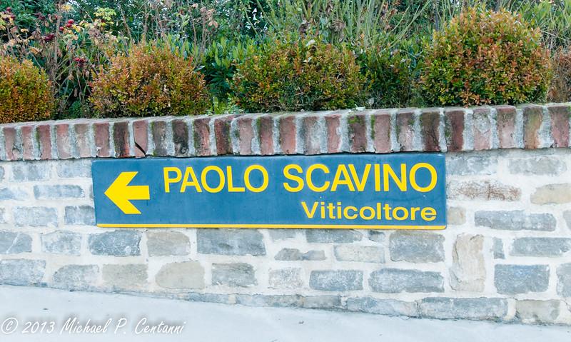 Paolo Scavino in Castiglione Falletto