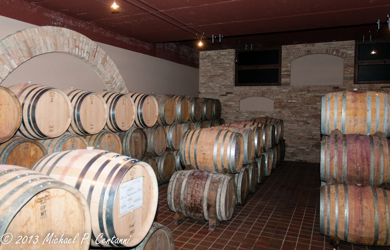 The cellars of Sottimano