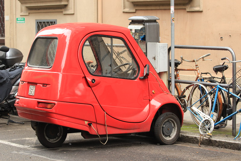 Pasquali Riscio Electric Car