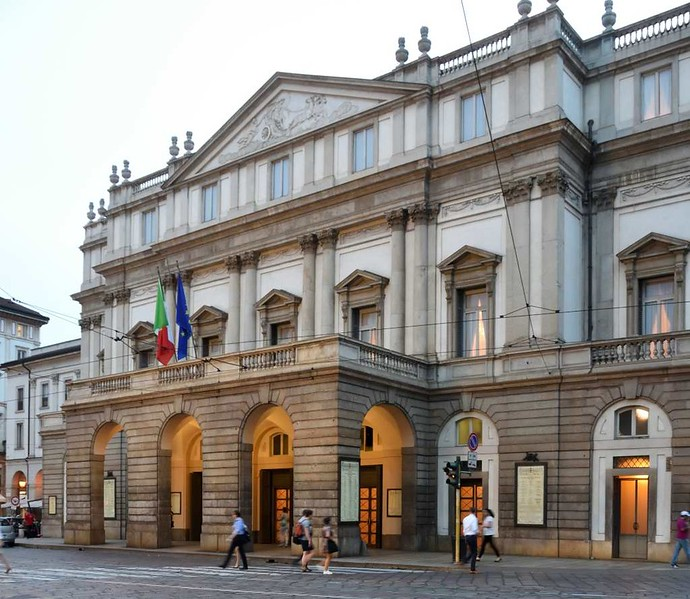 La Scala opera house, Milan, 9 June 2015 1.
