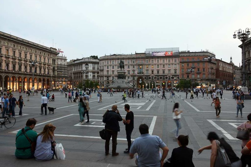 Cathedral square, Milan, 9 June 2015