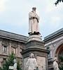 Leonardo da Vinci, Milan, 9 June 2015.  The great man spent much of his career in Milan.