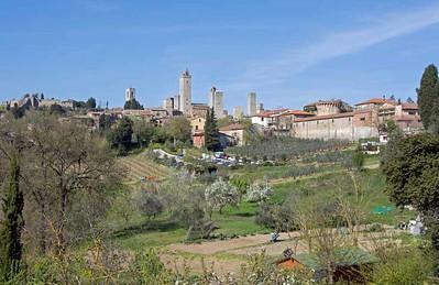 Italy: San Gimignano