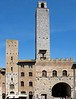 Torre grossa, San Gimignano, 15 April 2015 1.  The tallest of the towers, completed in 1310 and 54 metres high.