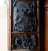 Door, Basilica of San Domenico, Siena, 17 April 2015.