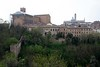 Basilica of San Domenico and cathedral, Siena, 17 April 2015.