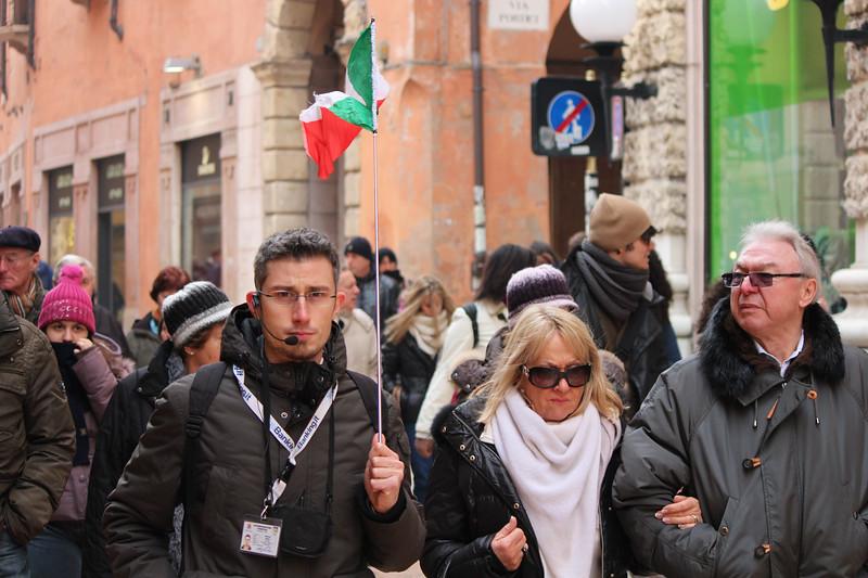 Italy, Verona, Tour Guide