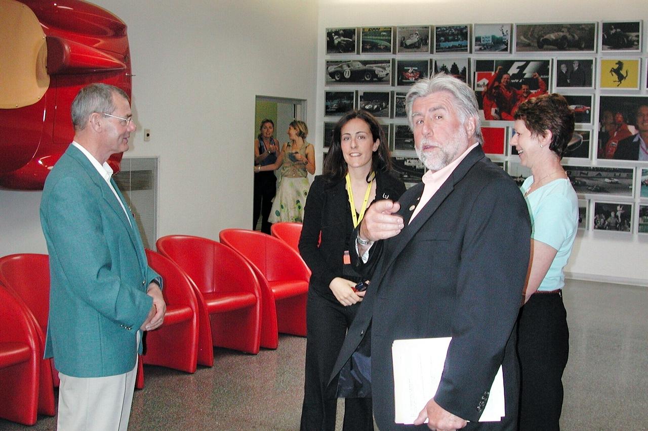 Ferrari Factory Tour, Maranello / Ross Bremer Photo