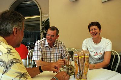 Lunch at Restaurant Ala Rotunda, Torri del Benaco