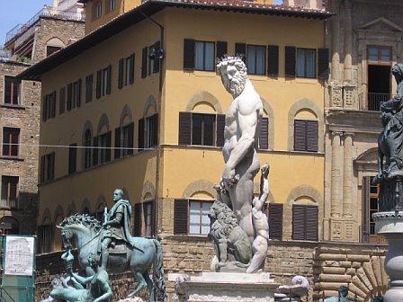 Fountain of Neptune, Piazza della Signoria, Florence / Gina's Photos