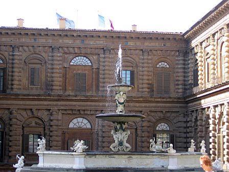 The Pitti Palace, Florence / Gina's Photos