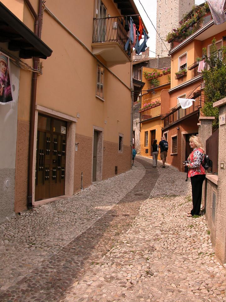 Streets of Malcesine, Lake Garda / Ted Wenz Photo