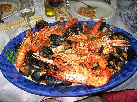 Great food! L'Amalfitano Restaurant, Dello / Gina's Photos
