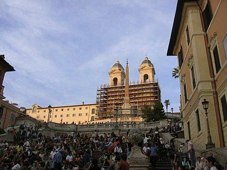 The Spanish Steps, Rome / Gina's Photos