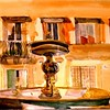 """Fountain In Toscania, Italy 15"""" x 22"""" Price: $300. Unframed"""