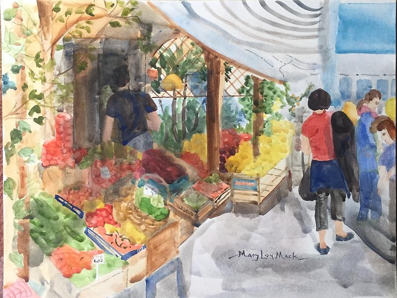 Ischia Farmers Market, Italy