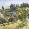 Villa Belvedore, Castel del Franco, outside Florence, Italy