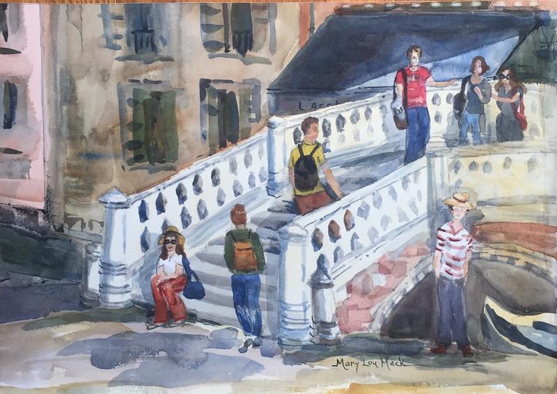 Frias Square, Venice (near Rialito)